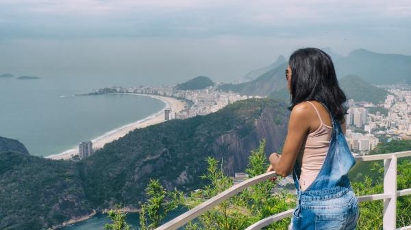Overlooking Rio de Janeiro